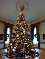 White House Christmas tree, 1994