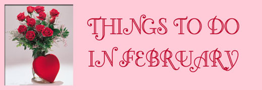 Things to do in February