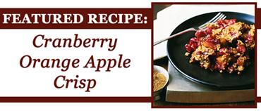 Cranberry Orange Apple Crisp