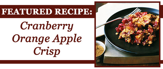 Cranberry Orange Apple Crisp