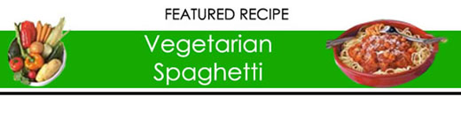 Easy Vegetarian Spaghetti