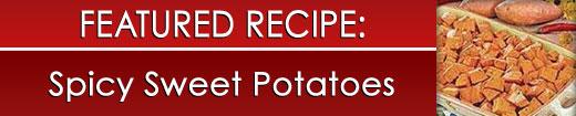 Spicy Sweet Potatoes
