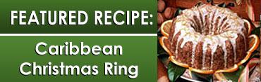 Caribbean Christmas Ring