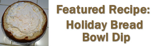 Holiday Bread Bowl Dip
