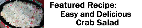 Rickey's Famous Crab Salad