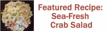 Featured Recipe: Garden Fresh Crab Salad