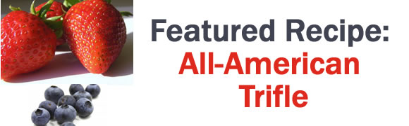 Featured Recipe: All-American Trifle