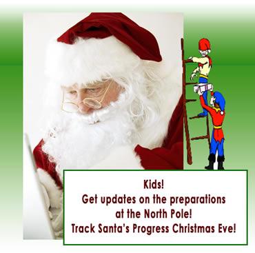 Track Santa's progress