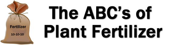 The ABC's of Plant Fertilizer