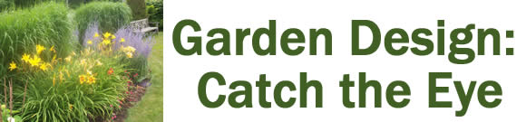 Garden Design: Catch the Eye