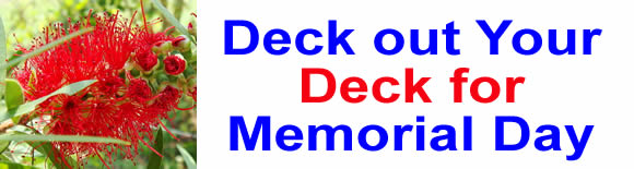 Deck out Your Deck for Memorial Day
