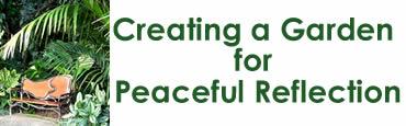 Creating a Garden for Peaceful Reflection